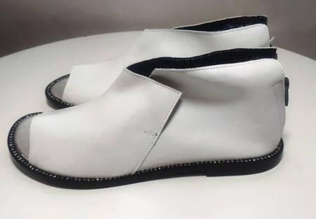 Sandały marki Tuffoni Biała Perła 1520004LL  Gatunek 2
